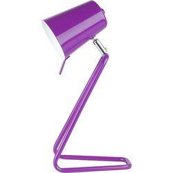 Leitmotiv Lampka biurkowa z  fioletowa