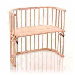 TOBI Babybay original Łóżeczko dostawe - Eko surowe drewno bukowe