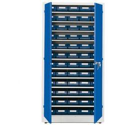 Aj produkty Szafa warsztatowa z pojemnikami, 60 pojemników, 1900x1000x400 mm