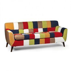 Sofa patchworkowa fiesta, 3-osobowa marki B2b partner