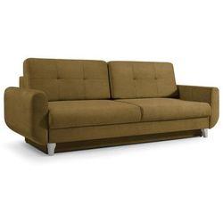 """Trendstyle Sofa """"calipso"""" rozkładana - musztardowy"""
