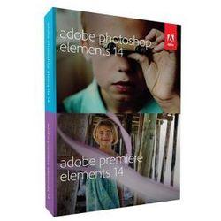 Adobe photoshop & premiere elements 14 win pl box wyprodukowany przez Adobe - oprogramowanie graficzne