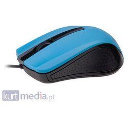 Mysz Gembird Optyczna 1-Scroll Black/Blue (USB)(MUS-101-B) z kategorii Myszy, trackballe i wskaźniki