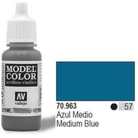 Vallejo  farba nr57 medium blue matt 17ml