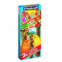 VITAKRAFT Kolby miodowo-owocowo-jajeczne dla kanarka 3 szt.