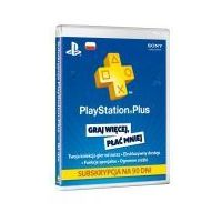 Playstation Plus Card 90 dni PSN PS3/PS4/PSV - produkt z kategorii- Kody i karty pre-paid