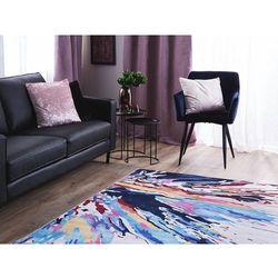 Beliani Dywan kolorowy 140 x 200 cm krótkowłosy karabuk (4260624113050)