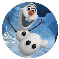 Dekoracyjny opłatek tortowy Frozen - Olaf - 20 cm - 10