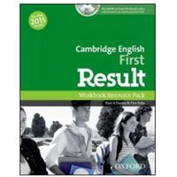 Cambrigde English First Result WB RP+MultiRom& Online PT