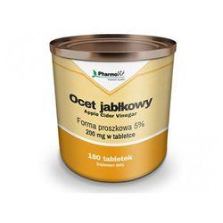 Ocet jabłkowy 5% 200mg 180tabl Pharmovit, produkt z kategorii- Pozostałe środki na odchudzanie