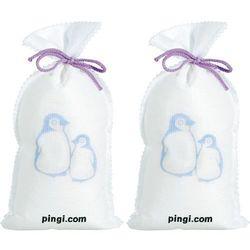 Osuszacz powietrza wielokrotnego użytku pingi 2x500 g PINGI, biały - produkt z kategorii- Osuszacze powietrza