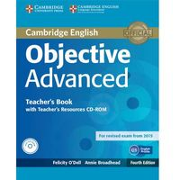 Objective Advanced 4ed Teacher's Book with Teacher's Resources Audio CD/CD-ROM egzamin 2015
