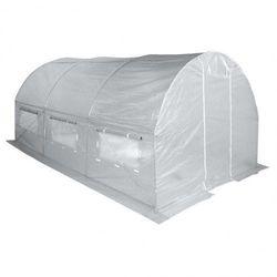 Tunel Foliowy Ogrodowy Ogrodniczy Szklarnia 3x6 m Biały UV6 - produkt z kategorii- Szklarnie