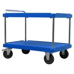 Wózek stołowy do dużych obciążeń,dł. x szer. 1200 x 800 mm, nośność 500 kg