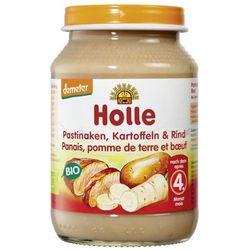 4 mc pasternak, ziemniaki i wołowina bezglutenowe bio 190 g - holle wyprodukowany przez Holle (dla niemowląt
