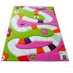 Dywan Soft Play Plansza do Gry 134 x 180 cm różowy, 101MD031PE13182