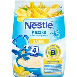 NESTLÉ Kaszka mleczno-ryżowa banan 230g z kategorii Kaszki i kleiki dla dzieci