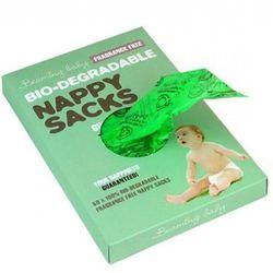 Bezzapachowe biodegradowalne worki na zużyte pieluszki 60szt.., marki Beaming baby