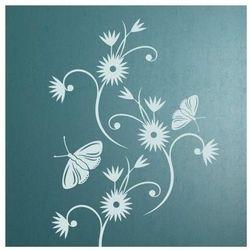 kwiaty 895 szablon malarski