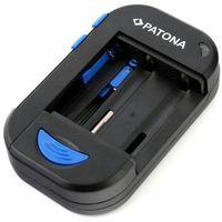 Multi ładowarka uniwersalna GSM/FOTO/R6/R03/USB marki PATONA (ładowarka do akumulatorków)
