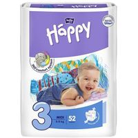 Pieluszki Bella Baby Happy Midi 5-9 kg - 52 szt.