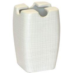 Kubek na szczoteczki BA-DE ceramika Biały z kategorii Kubki i szklanki