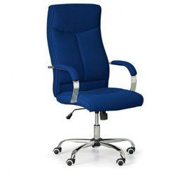 B2b partner Fotel biurowy lugo tex, niebieski