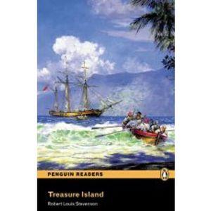 Treasure Island (Wyspa Skarbów) + CD. Penguin Readers, Pearson