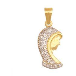 Złoty medalik - 22993 - pr.585 wyprodukowany przez Rodium