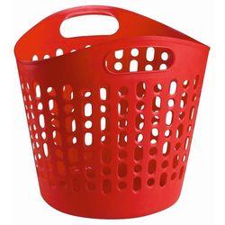 Bisk Kosz na pranie czerwony (5901487059541)