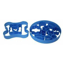 PLASTIKOWE FOREMKI wykrawacze CIASTEK 14 szt pudeł