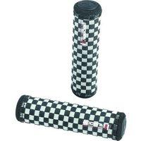 Accent Chwyty kierownicy chess 128 mm, czarno-szare (5906948863408)