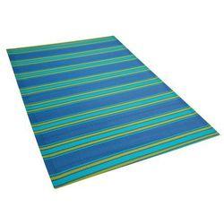 Beliani Dywan na zewnątrz niebieski 120 x 180 cm alwar (4260602378600)