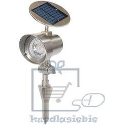 Max Lampa ogrodowa zasilana energią słoneczną garth reflektor 15 x 11,5 x 22 cm (4048821003134)