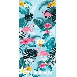 xl szybkoschnący ręcznik treningowy 70x140 cm / tropical - tropical marki Dr.bacty