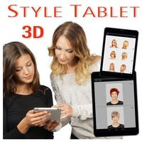 Style tablet 3d - pakiet dodatkowych fryzur - ślubne 30 marki Hair concept