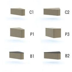 stół WALL IN SYSTEM B2 stolik -łącznik 60 stopni - LW02 -czarny