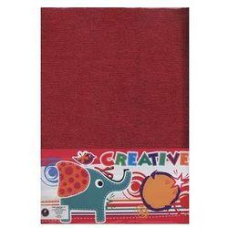 Papier dekoracyjny bibuła metalizowana 10 kolorów