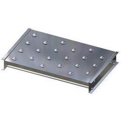 Stół kulowy, wys. konstrukcji 110 mm, szer. przenośnika 750 mm, dł. 500 mm, podz marki Gura fördertechnik