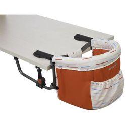 Safety 1st krzesełko mocowane do stołu smart lunch red lines
