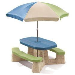 Step2 Stół piknikowy z parasolem Aqua, 843800
