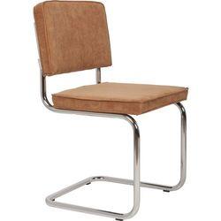 Zuiver  krzesło ridge rib camelowe 1100074