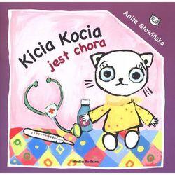 Kicia Kocia jest chora, książka w oprawie miękkej