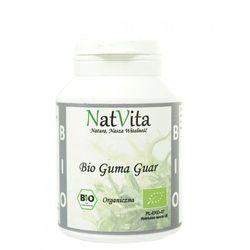 Guma Guar BIO mączka Indie 100g NatVita (5907377289562)