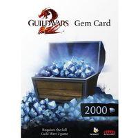 Guild Wars 2 Gem Card 2000 Points