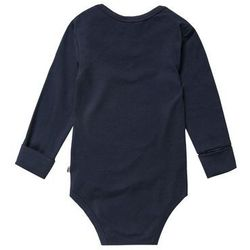 Müsli by GREEN COTTON Body navy z kategorii Body niemowlęce