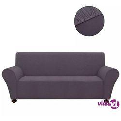 vidaXL Elastyczny pokrowiec na sofę, z dżerseju, szary (8718475962076)