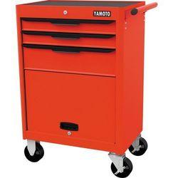 Wózek warsztatowy na kółkach 3-szufladowy 400kg ymt5941600k marki Yamoto
