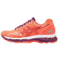 ASICS GELNIMBUS 19 Obuwie do biegania treningowe flash coral/dark purple/white