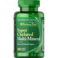 Tabletki Multi Minerały Chelatowane / 100 tab Puritans pride